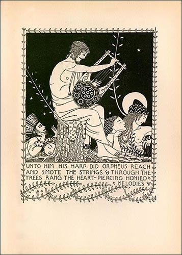 """""""Orpheus with Lyre"""""""