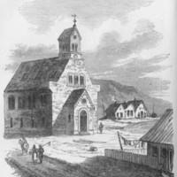 <em>Church at Reykjavik</em>