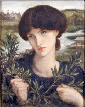Portrait of Jane Morris in Kelmscott Manor