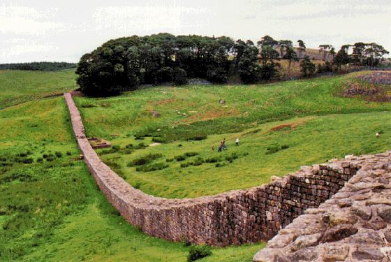 Photograph of Hadrian's Wall
