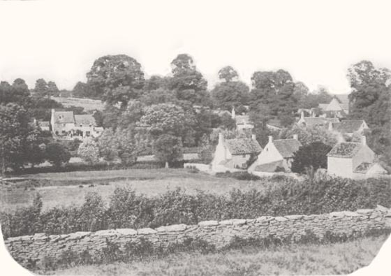 Photograph of cottages