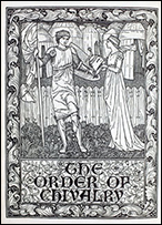 Frontispiece of The Order of Chivalry