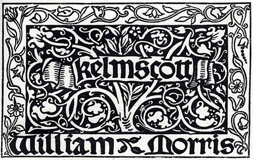 Kelmscott Press printer's mark
