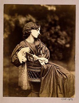 Photograph of Jane Morris