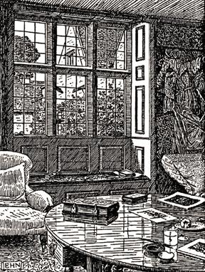 Kelmscott Manor interior