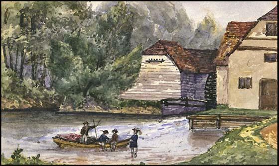 Maple-Durham Lock