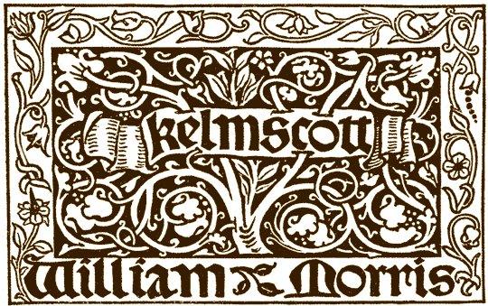 Kelmscott Press Print Mark