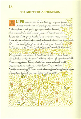 Sonnet to Grettir Asmundson