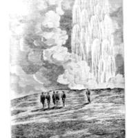 <em>Great Geysir in Eruption, July 1874</em>