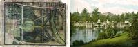 Kensington Gardens (plan and Italian Garden)