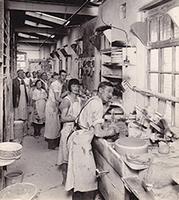 Burleigh pottery factory