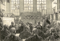 On trial at the Old Bailey