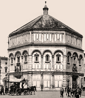 The Baptistry in Florence