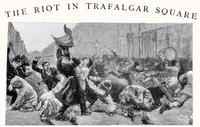 The Riot in Trafalgar Square