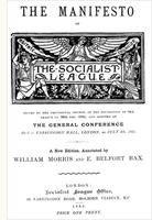 The Socialist League<em>Manifesto</em>