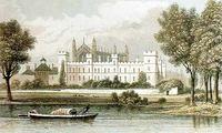 Eton College etching