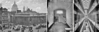 Exterior of Newgate Prison