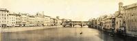 Historical photo of Ponte Vecchio