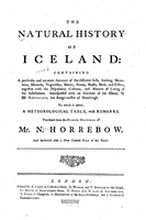 The Natural History of Iceland