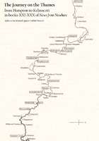 The Journey on the Thames from Hampton to Kelmscott