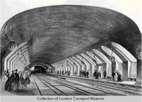 Interior of a Victorian Train