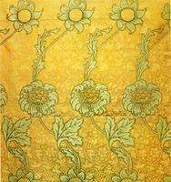 Kennet printed silk, 1883