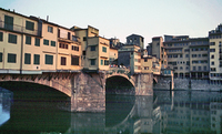 Upper section of the Ponte Vecchio